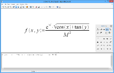 Screendump of Apache OpenOffice Math